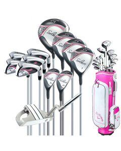 Bộ gậy Golf  fullset Callaway Solaire 16 (8gậy+túi/lady)