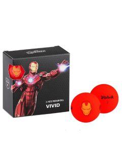 Bóng golf Volvik Marvel Iron Man Pack