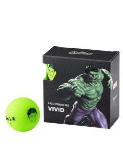 Bóng golf Volvik Marvel Hulk Pack