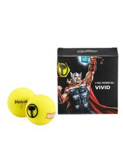 Bóng golf Volvik Marvel Thor Pack