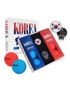 Bóng golf Volvik Korea Pack